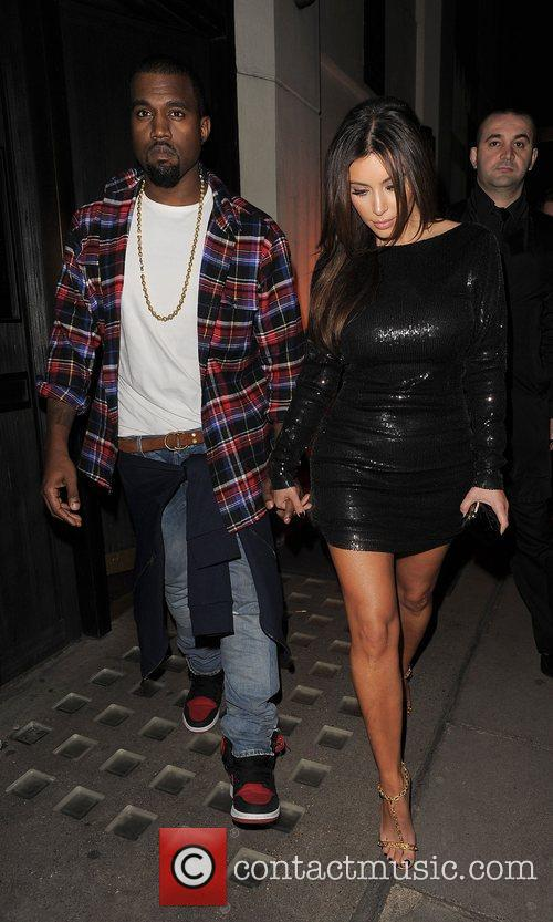 Kim Kardashian, Hakkasan and Kanye West 4