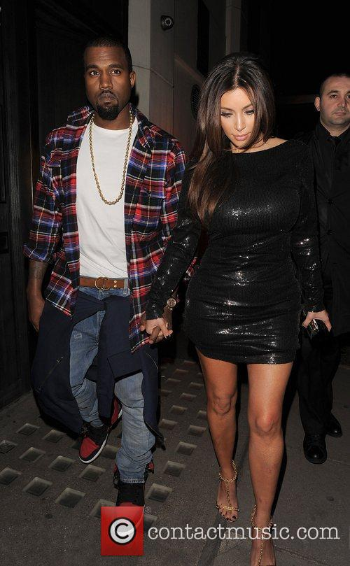 Kim Kardashian, Hakkasan and Kanye West 14