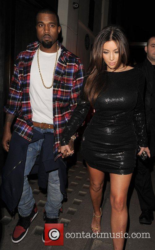 Kim Kardashian, Hakkasan and Kanye West 1