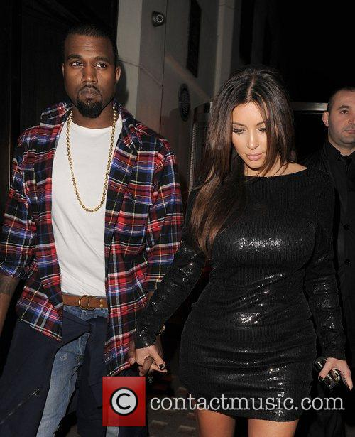 Kim Kardashian, Hakkasan and Kanye West 16