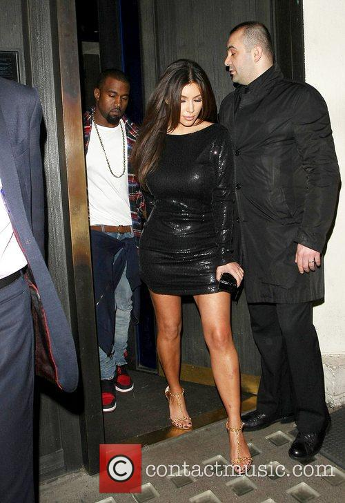 Kim Kardashian, Hakkasan and Kanye West 25