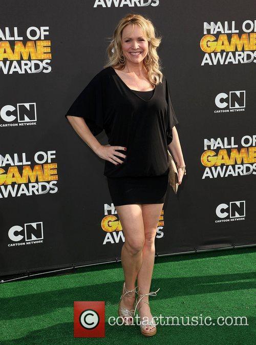 Actress Barbara Alyn Woods 2012 Cartoon Network Hall...