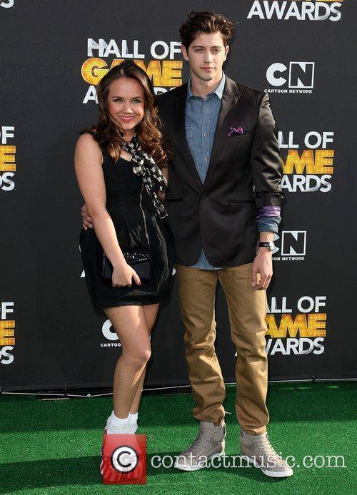 Jennifer Veal and Chris Galya 2012 Cartoon Network...