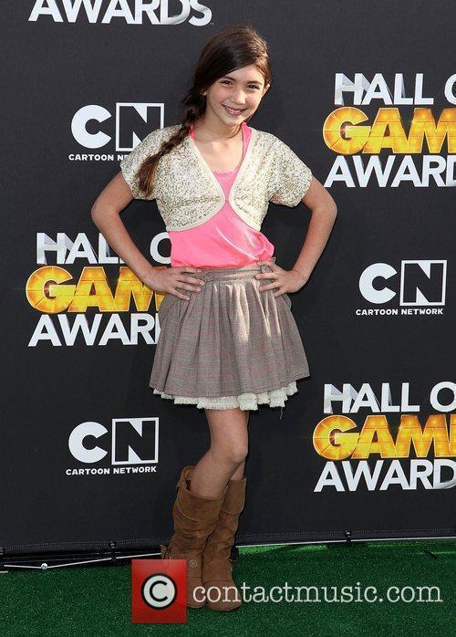 Rowan Blanchard 2012 Cartoon Network Hall of Game...