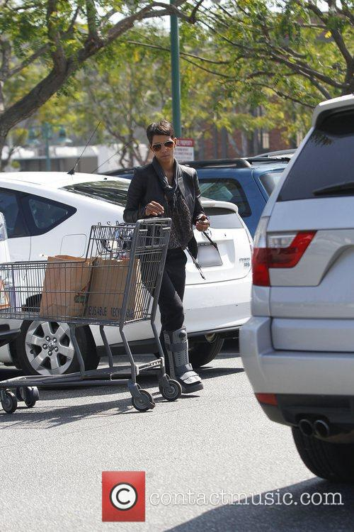 Shopping at a supermarket in West Hollywood
