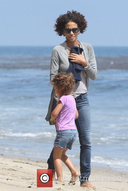 Halle Berry and Malibu Beach 5
