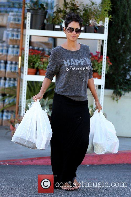 halle berry carries out groceries after shopping 5940890