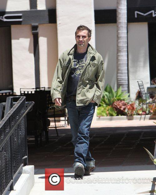 Oliver Martinez shopping at Henry Beguelin in Malibu....
