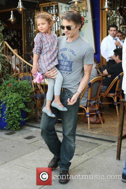 olivier martinez and nahla aubry are seen 5786749