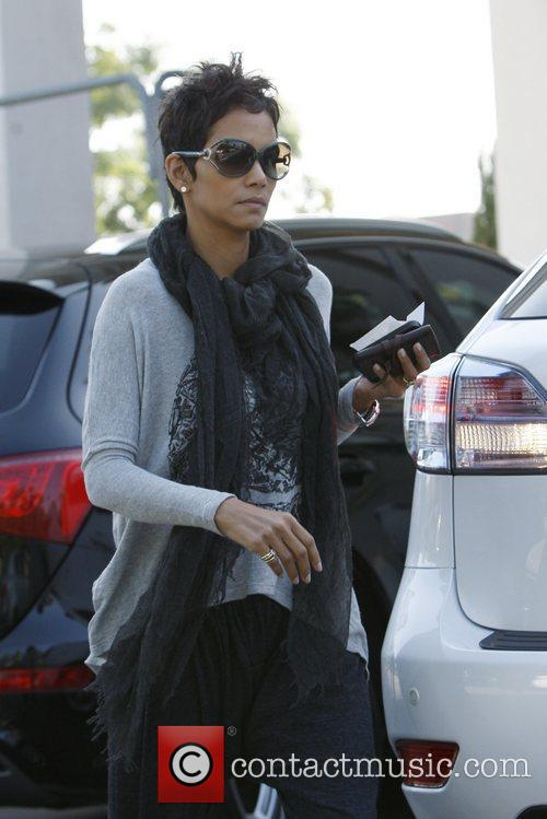 Halle Berry  seen out and about in...