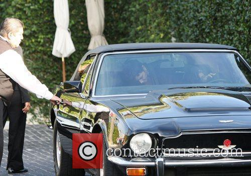 Halle Berry and Aston Martin 11