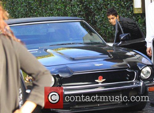 Halle Berry and Aston Martin 7