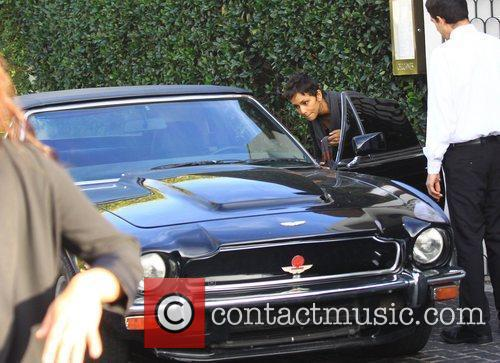 Halle Berry and Aston Martin 6