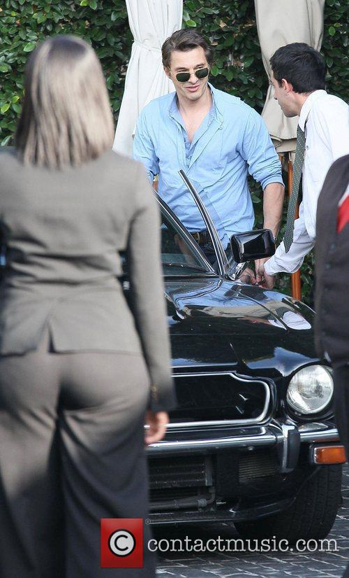 Olivier Martinez and Aston Martin 2