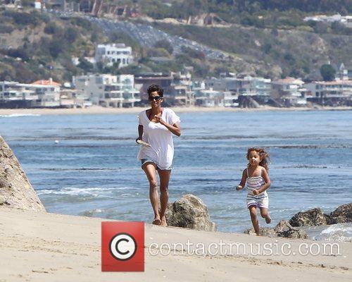 Halle Berry and Malibu Beach 6