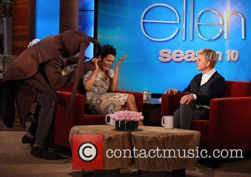 Star, Cloud Atlas, Halle Berry, The Ellen, Ellen, Show, Friday, October, Olivier Martinez. Plus, Halloween