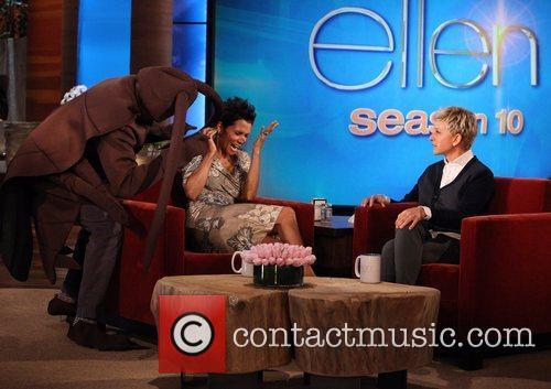 Star, Cloud Atlas, Halle Berry, The Ellen, Ellen, Show, Friday, October, Olivier Martinez. Plus and Halloween 2