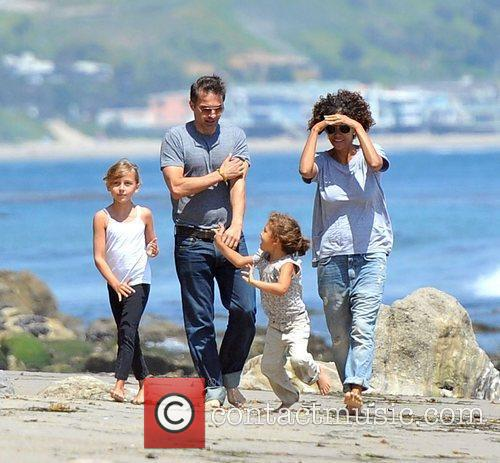 Halle Berry, Olivier Martinez and Malibu Beach 1