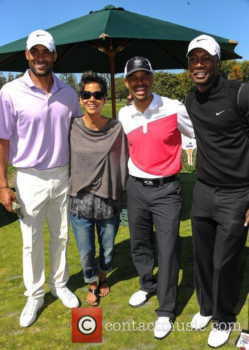 Boris Kodjoe, Halle Berry and Celebrity Golf Classic 2