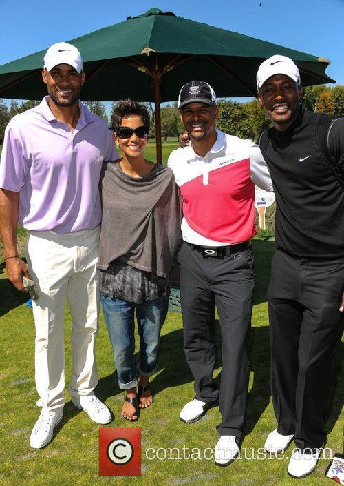 Boris Kodjoe, Halle Berry and Celebrity Golf Classic 3