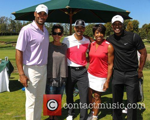 Boris Kodjoe, Halle Berry and Celebrity Golf Classic 4