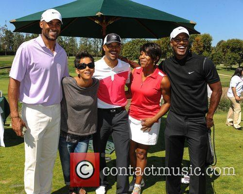 Boris Kodjoe, Halle Berry and Celebrity Golf Classic 1