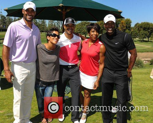 Boris Kodjoe, Halle Berry and Celebrity Golf Classic 6