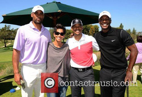 Boris Kodjoe, Flex Alexander, Halle Berry and Celebrity Golf Classic 9