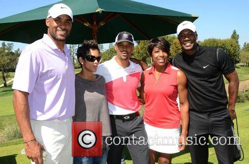 Boris Kodjoe, Dawnn Lewis, Flex Alexander, Halle Berry and Celebrity Golf Classic 8
