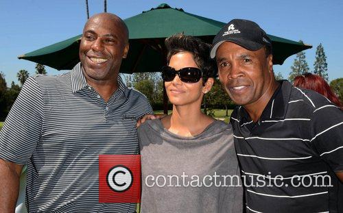 Halle Berry, Sugar Ray Leonard and Celebrity Golf Classic