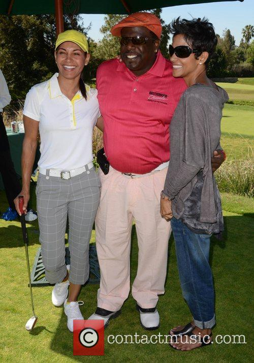 Salli Richardson, Cedric The Entertainer, Halle Berry and Celebrity Golf Classic 2