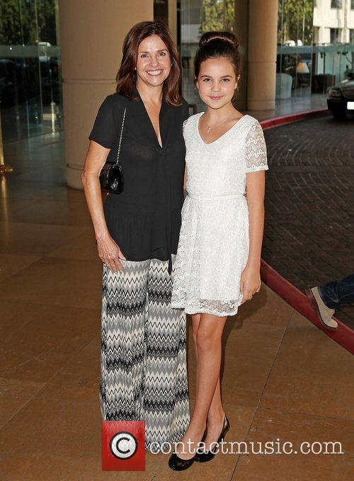 Baliee Madison (R) and mother Hallmark Channel and...