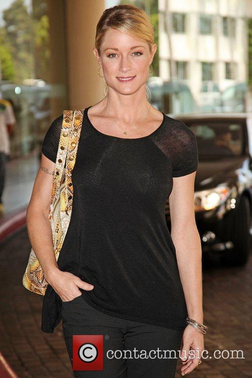 Teri Polo and Beverly Hilton Hotel 2