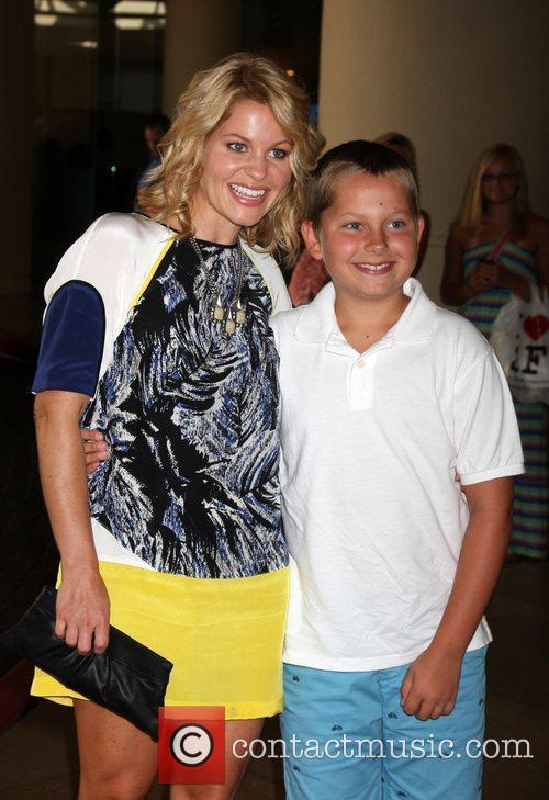 Candace Cameron Bure, son Maks Hallmark Channel and...