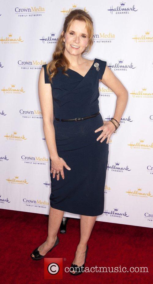 Lea Thompson Hallmark Channel's Winter 2012 TCA Press...