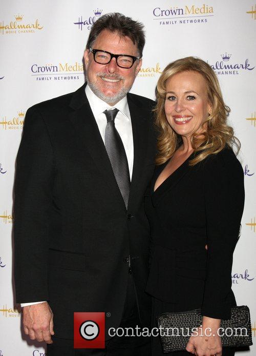 Jonathan Frakes and Genie Francis Hallmark Channel's Winter...