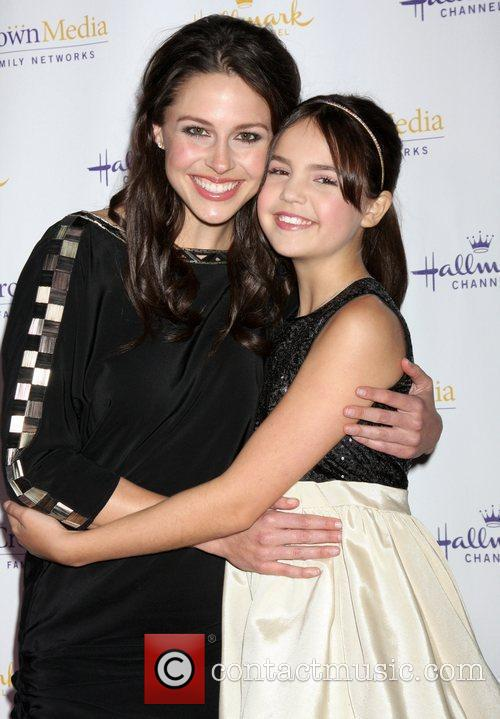 Kaitlin Riley and Baillee Madison Hallmark Channel's Winter...