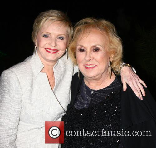 Florence Henderson and Doris Roberts 4