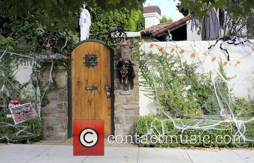 The exterior of Ashley Tisdale's Hollywood home is...