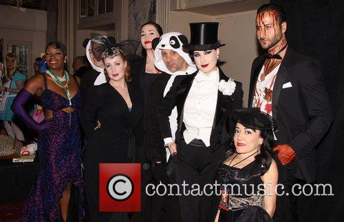 Dita Von Teese and cast attending the 17th...