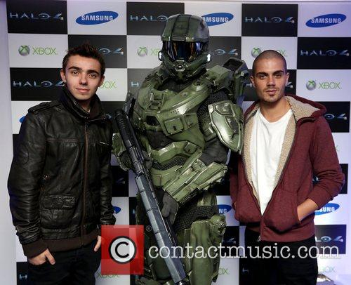 Nathan Sykes and Max George 8