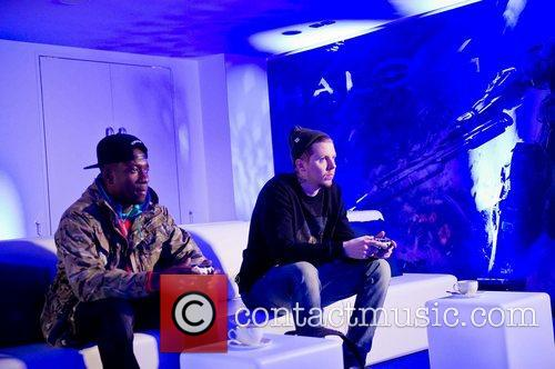 Professor Green, Halo and Design Museum 1