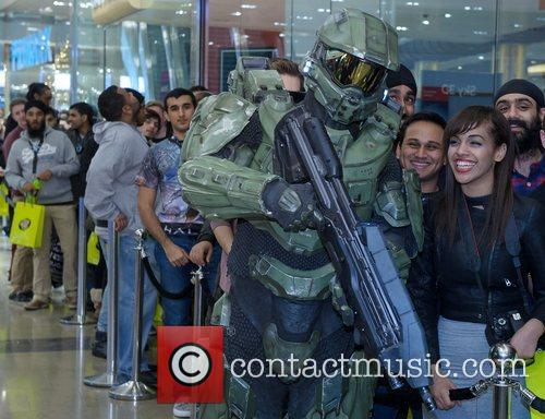 Halo, Xbox, Launch and Westfield Stratford 4