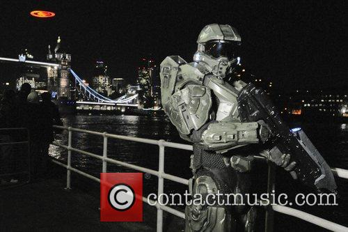 Buster 'Halo 4'. Fans and spectators were treated...