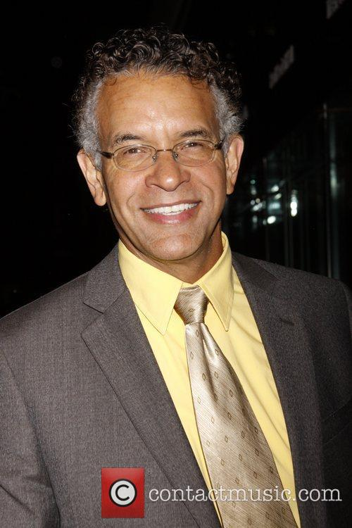 Brian Stokes Mitchell attending the Memorial to honor...