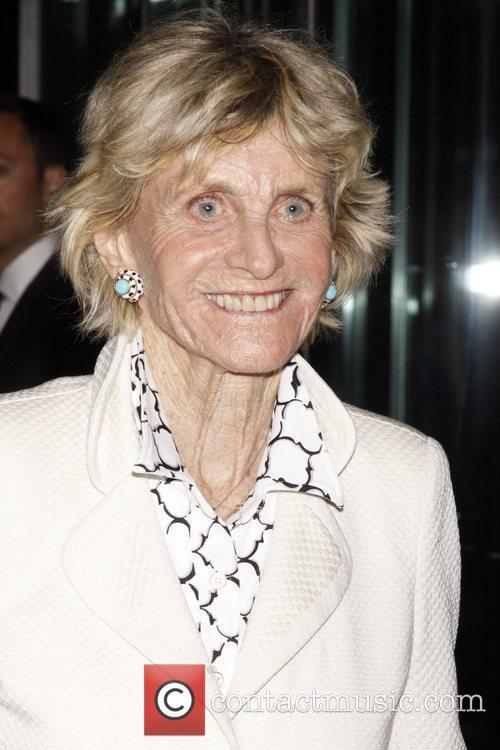 Jean Kennedy Smith attending the Memorial to honor...