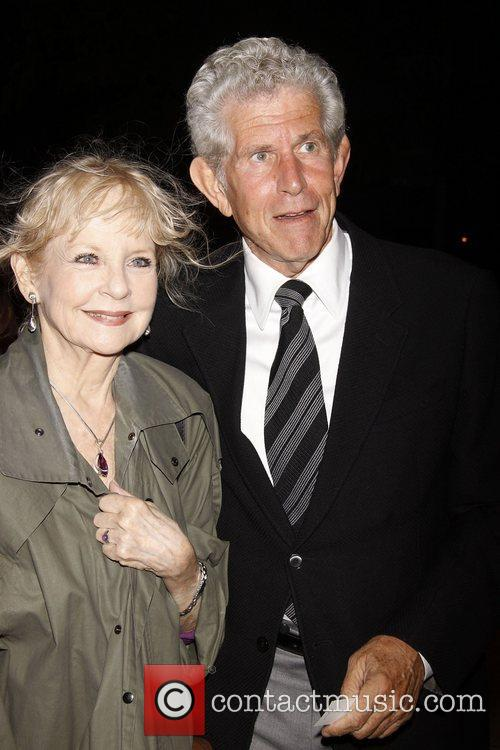 Penny Fuller and Tony Roberts attending the Memorial...
