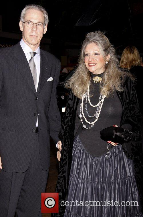 Dr. John Wagner and Julie Budd attending the...