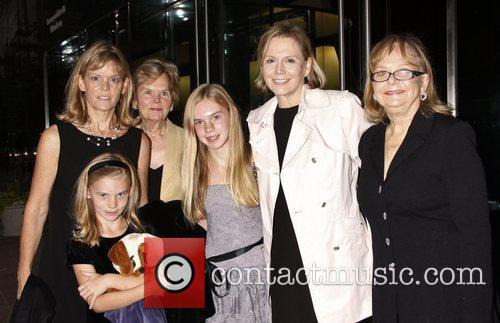 terre blair hamlisch and family attending the 4087284