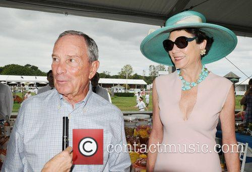 Mayor Michael Bloomberg and Diana Taylor 1